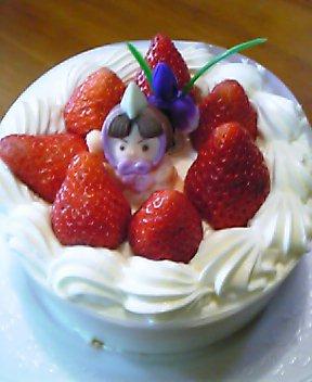 子供の日のケーキ (*^^*)